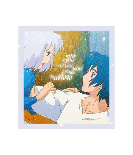 Howl and Sophie wallpaper probably with anime entitled Howl and Sophie