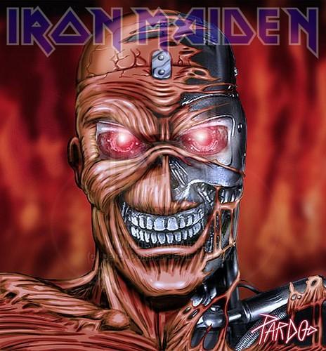 Iron Maiden پیپر وال titled IRON MAIDEN