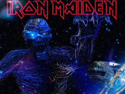 Iron Maiden پیپر وال called IRON MAIDEN