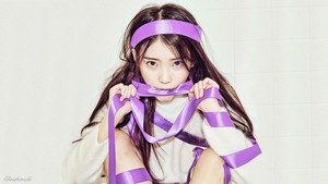 IU CHAT-SHIRE Teaser Wallpaper by IUmushimushi