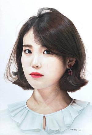 IU(アイユー) fanart によって bae sanghyuk