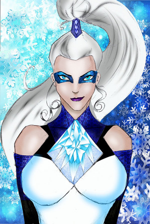 Icy Portrait