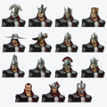 Inquisitor's headwear concept art in The Art of Dragon Age: Inquisition