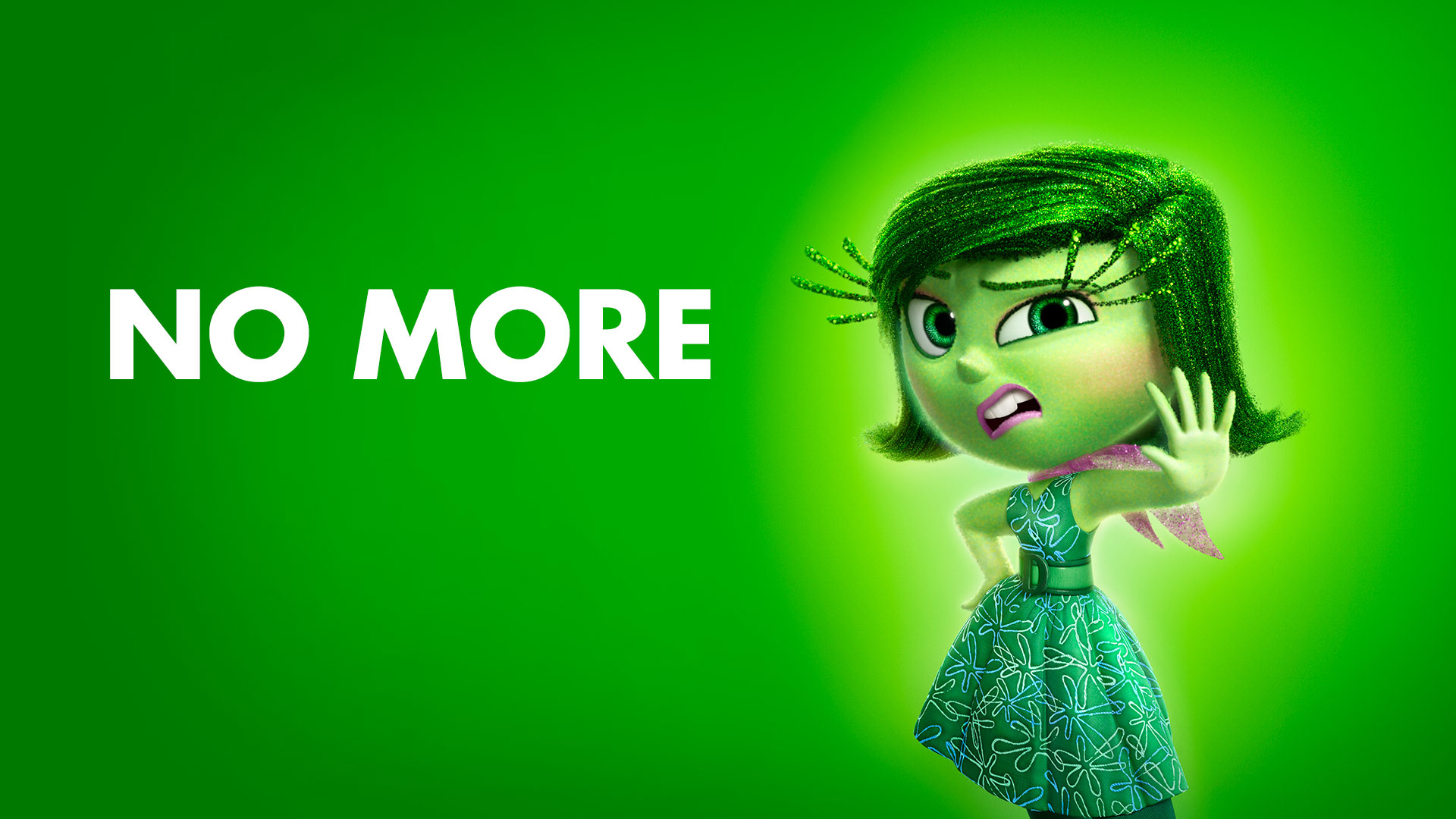 Inside Out Disgust - Wallpaper