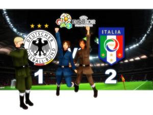 Italies win