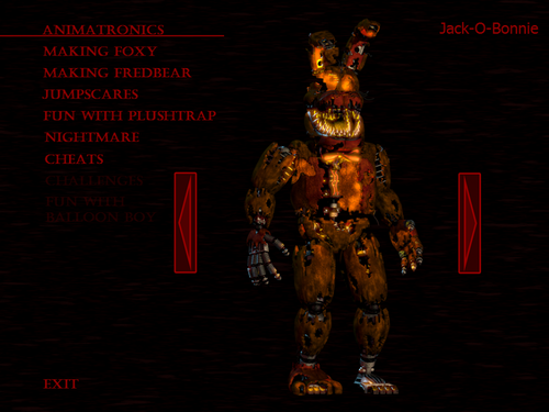 Five Nights at Freddy's wallpaper containing Anime entitled Jack O Bonnie