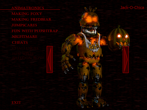 Five Nights at Freddy's fond d'écran possibly with animé called Jack O Chica