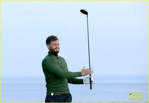 Jamie Dornan Is Basically the Sexiest Golfer Ever