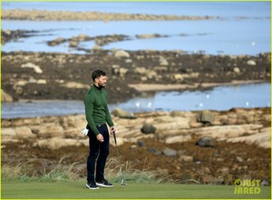 Jamie Dornan Is Basically the Sexiest Golfer Ever