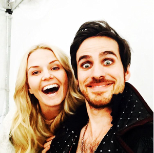 Jennifer Morrison and Colin ♡