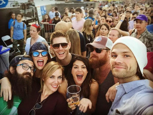 Jensen, Danneel, Genevieve and Jared