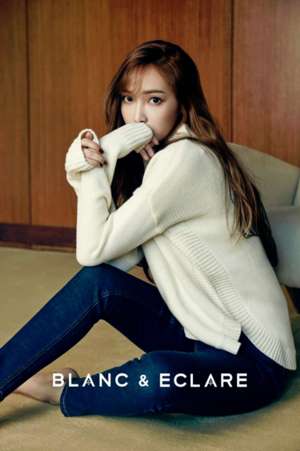 Jessica Jung's Fashion Brand blanc and Eclare Releases Winter Collection