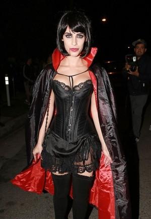 Jessica at Casamigos Halloween Party