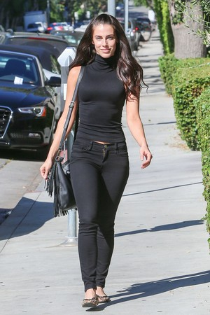 Jessica out in Los Angeles