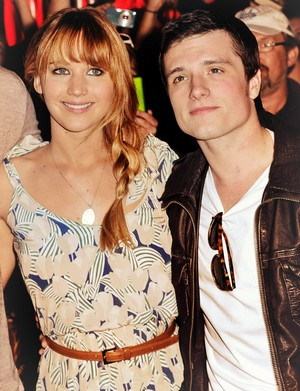 Josh and Jennifer red carpet