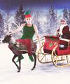 Justin Bieber Christmas - justin-bieber fan art