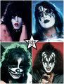 KISS 1978 - kiss photo