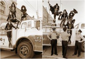 KISS ~Cadillac, Michigan...October 9-10, 1975