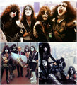 KISS ~Empire State Building  NYC...June 24,  1976 - kiss photo