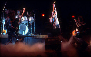 KISS ~Long strand California...January 17, 1975 Hotter Than Hell Tour
