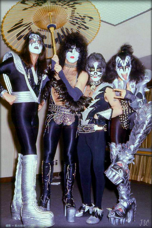 kiss Suita City Japan...March 21, 1977
