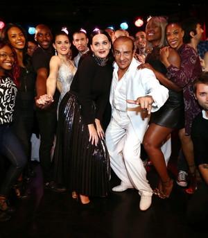 Katy at Rojo Tango Show