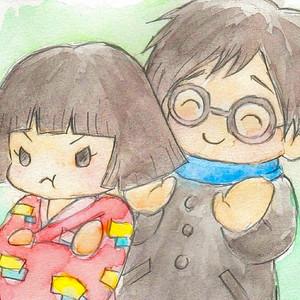 Kayo and Jiro