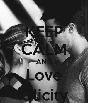 Keep Calm and tình yêu Olicity