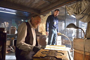 Kevin Durand as Vasiliy Fet in The Strain - 2x02 - By Any Means