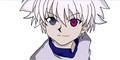 Killua with Geass
