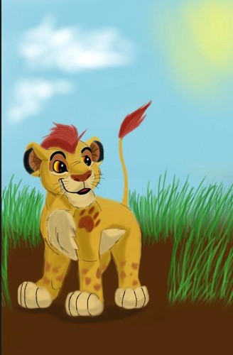 The Lion King wallpaper possibly with anime entitled Kion - The Lion Guard.