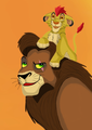 Kovu and Kion - the-lion-king-2-simbas-pride fan art