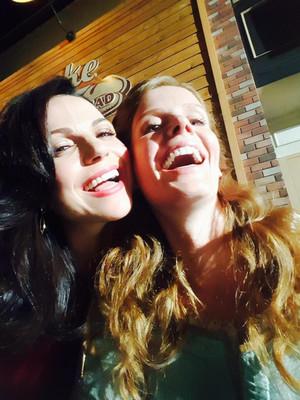 Lana and Rebecca
