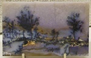 Landscape Inside Agate
