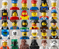 Lego faces - lego photo