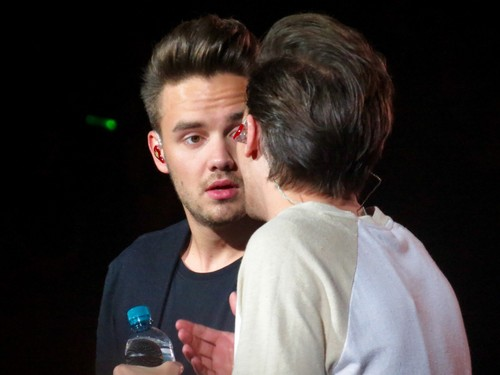 Liam Payne wolpeyper possibly containing a bottled water, a mineral water, and alcohol titled Lilo