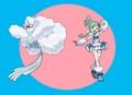 Lisia and her Mega Altaria - pokemon photo