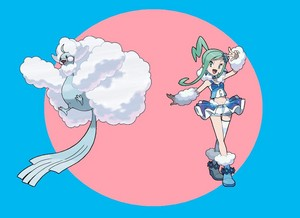 Lisia and her Mega Altaria