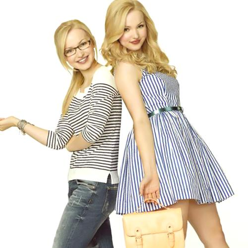 Liv and Maddie দেওয়ালপত্র possibly containing a hip boot, a legging, and tights titled Liv and Maddie