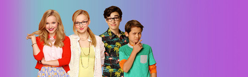Liv and Maddie 바탕화면 probably containing a portrait titled Liv and Maddie