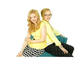 Liv and Maddie দেওয়ালপত্র containing a chemise titled Liv and Maddie