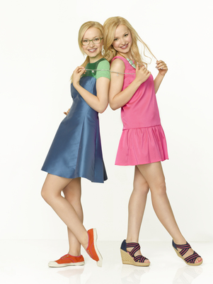 Liv and Maddie fond d'écran containing a cocktail dress, a frock, and a chemise titled Liv and Maddie
