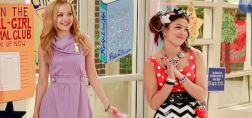 Liv and Maddie वॉलपेपर probably with a कॉकटेल dress, a frock, and a dress called Liv and Maddie