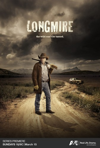 Longmire kertas dinding containing a sunset and a rifleman called Longmire Poster