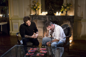 Louis at The X Factor ​Judges Houses