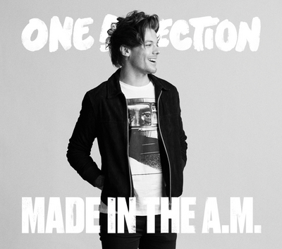 Louis Tomlinson wallpaper with a well dressed person, an outerwear, and a box coat called Made in the A.M - HMV cover