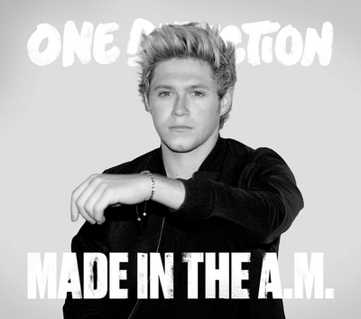 Niall Horan wallpaper possibly containing a sign entitled Made in the A.M - HMV cover