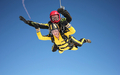 Maisie Williams skydives for charity