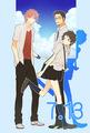 Makoto, Chiaki and Kosuke