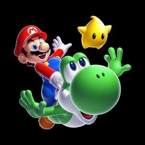 Mario, Luma and Yoshi
